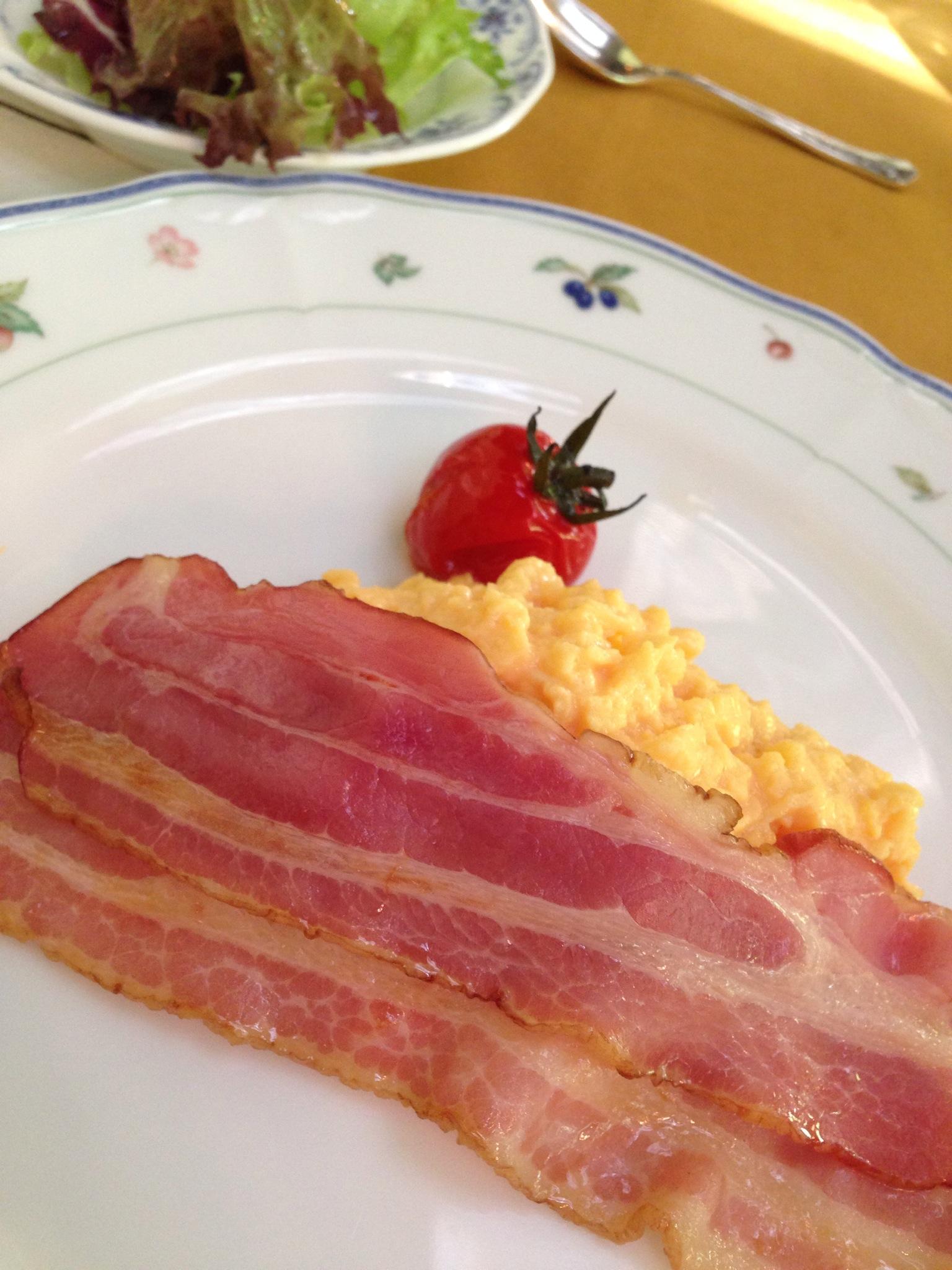 軽井沢万平ホテルで朝食