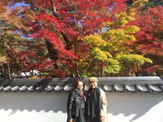 何年ぶりでしょう! 母が神戸に  せっかくなので京都まで紅葉・・・