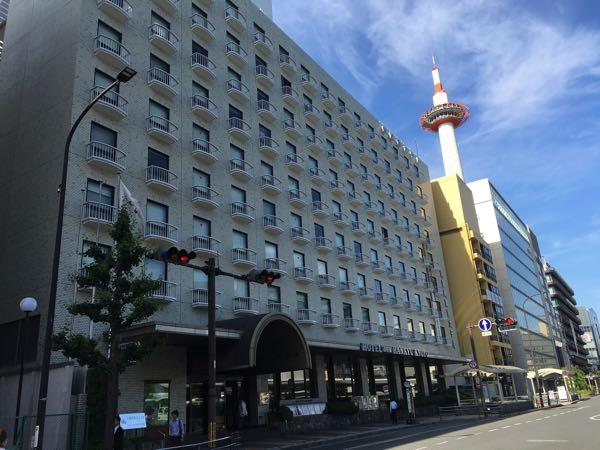京都新阪急ホテルのビアガーデン(^o^)/