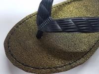 ■日本で丁寧に縫製しています「九十九」の生地ビーチサンダル