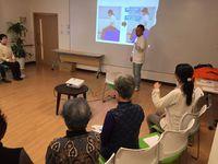 腰痛予防教室を開催しました!