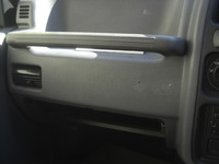 パジェロミニのダッシュボードビス穴補修