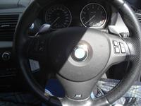 BMW130iのステアリングスポーク傷補修